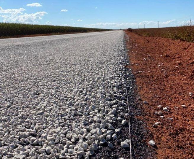 pavimentação MT-140, desvio, obras, BR-070