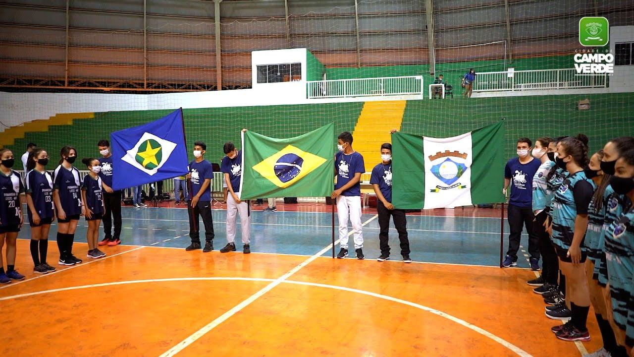 Campo Verde sedia etapa dos Jogos Escolares Mato-grossenses e sai campeã em jogo de abertura